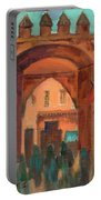 Fez Town Scene Portable Battery Charger