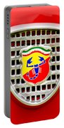 Fiat Emblem Portable Battery Charger
