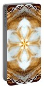 Fiber Optic Gold Portable Battery Charger