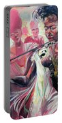 Fiddle Princess Portable Battery Charger