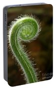 Fiddlehead Fern Curl Portable Battery Charger