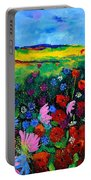 Field Flowers Portable Battery Charger