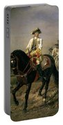 Field Marshal Baron Ernst Von Laudon 1717-90, General In The Seven Years War And War Of Bavarian Portable Battery Charger