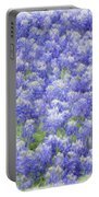 Field Of Bluebonnets Portable Battery Charger