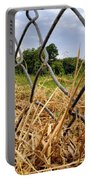 Field Of Dreams Portable Battery Charger by Jason Politte