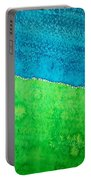 Field Of Dreams Original Painting Portable Battery Charger