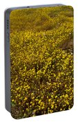 Field Of Goldfields In Park Sierra-ca Portable Battery Charger