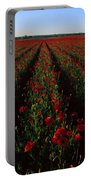 Field Of Poppies Portable Battery Charger