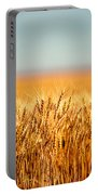 Field Of Wheat Portable Battery Charger