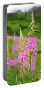Fields Of Fireweed Portable Battery Charger