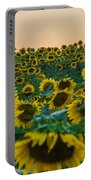 Fields Of Yellow  Portable Battery Charger
