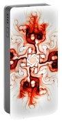 Fiery Cross Portable Battery Charger by Anastasiya Malakhova