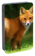 Fiery Fox Portable Battery Charger