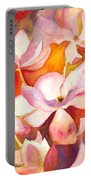 Fiery Magnolias Portable Battery Charger