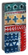 Fiesta 3- Colorful Pattern Painting Portable Battery Charger