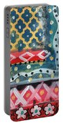 Fiesta 4- Colorful Pattern Painting Portable Battery Charger