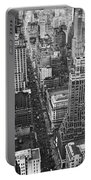 Fifth Avenue In New York City. Portable Battery Charger