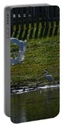 Fighting Birds Portable Battery Charger