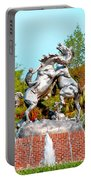 Fighting Stallions Portable Battery Charger