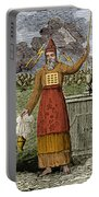 Figure Symbolizing Judaism Portable Battery Charger