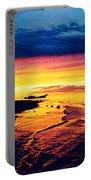 Fiji Paradise Sunset Portable Battery Charger