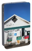 Filling Station, Mokotua, The Catlins Portable Battery Charger