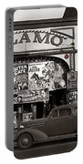 Film Homage Bela Lugosi Shadow Of Chinatown 1936 John Vachon Fsa Alamo Theater Washington D.c. 2010 Portable Battery Charger