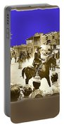 Film Homage Cameron Mitchell The High Chaparral Main Street Old Tucson Az Publicity Photo Portable Battery Charger