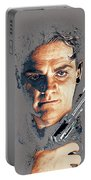 Film Homage Close-up James Cagney Angels With Dirty Faces 1939-2014 Portable Battery Charger