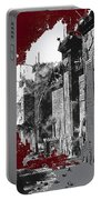 Film Homage D.w. Griffith Intolerance 1916 Fall Of Babylon 1916-2012  Portable Battery Charger by David Lee Guss