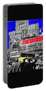 Film Homage Embassy Newsreel Theater 1940 Times Square New York City 2008 Portable Battery Charger