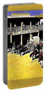 Film Homage Extras Unknown Production Old Tucson Arizona Color Added Portable Battery Charger
