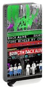 Film Homage Frank Buck Bring 'em Back Alive 1932 Collage Fox Tucson  Arizona 1932-2011 Portable Battery Charger
