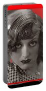 Film Homage Joan Crawford Louis Milestone Rain 1932 Collage Color Added 2010 Portable Battery Charger