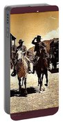 Film Homage Mark Slade Cameron Mitchell Riding Horses The High Chaparral Old Tucson Arizona Portable Battery Charger