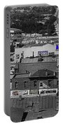 Film Homage Ted Degrazia Cine Plaza Theater  Blue W. Congress Tucson Arizona 1936-2008 Portable Battery Charger