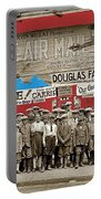 Film Homage The Air Mail  Leader Theater Washington D.c. 1925-2010 Portable Battery Charger