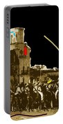 Film Homage The Gay Desperado Set San Xavier Mission Tucson Arizona 1936-2008 Portable Battery Charger