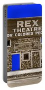Film Homage The New Adventures Of Tarzan 1935 1935/1937-2010 Rex Theater Leland Mississippi Portable Battery Charger