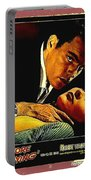 Film Noir Gerd Oswald Robert Wagner A Kiss Before Dying 1956 Poster Color Toning Added 2008 Portable Battery Charger