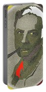Film Noir Mystery Writer Raymond Chandler Vignetted Texture Color Added 2013 Portable Battery Charger