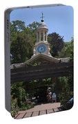 Filoli Clock Tower Garden Shop Portable Battery Charger