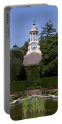Filoli Garden With Pond Portable Battery Charger