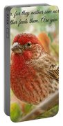 Finch With Verse New Version Portable Battery Charger