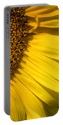 Find The Spider In The Sunflower Portable Battery Charger by Belinda Greb