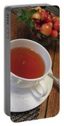 Fine Tea And Cherries Portable Battery Charger