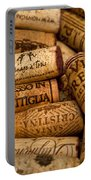 Fine Wine Corks Portable Battery Charger