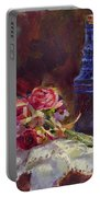 Finer Things Still Life By Karen Whitworth Portable Battery Charger