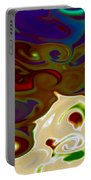 Fingerpainted Fantasy Portable Battery Charger