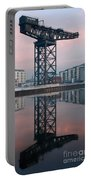 Finnieston Crane Reflections Portable Battery Charger